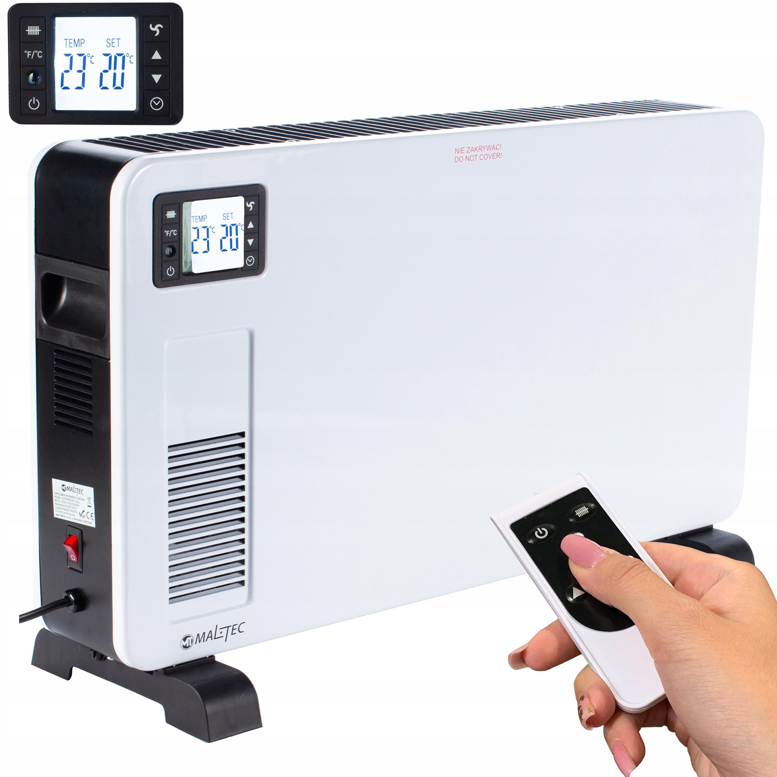 KONWEKTOR GRZEJNIK Termostat CH3500DW 2300W LCD