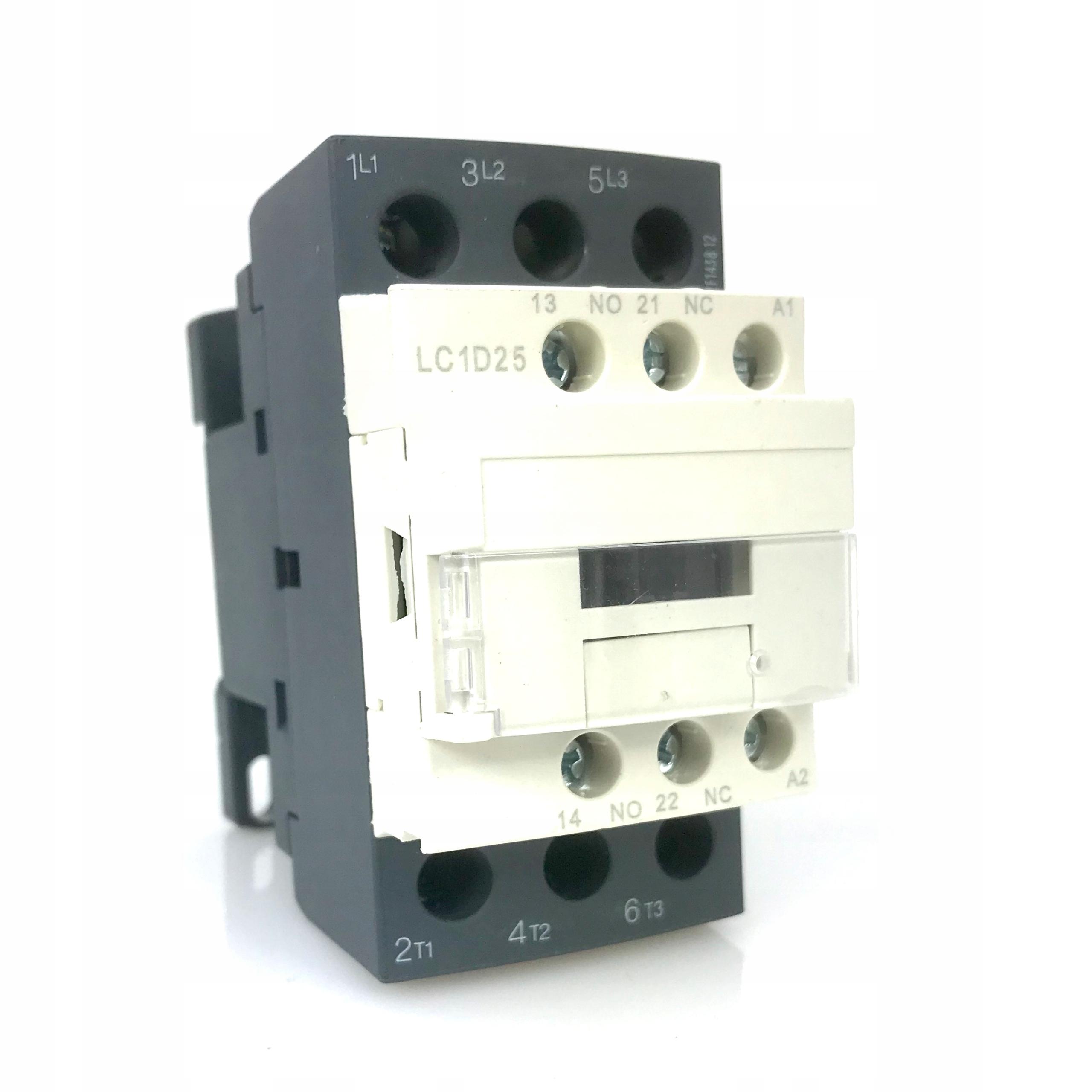Stycznik mocy 25A 11kW cewka 230VAC przekaźnik