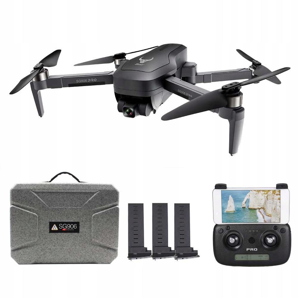 4K GPS Bezszczotkowy dron z dwoma aparatami