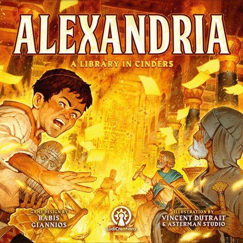 Купить Александрия - Библиотека в золе на Otpravka - цены и фото - доставка из Польши и стран Европы в Украину.