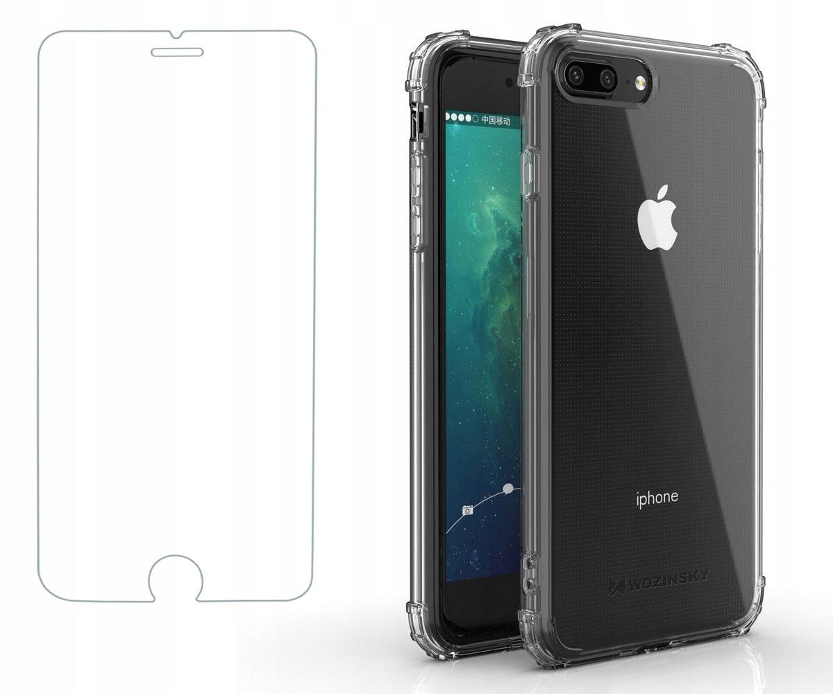Pancerne etui A-Shock + szkło do iPhone 7 / 8 Plus