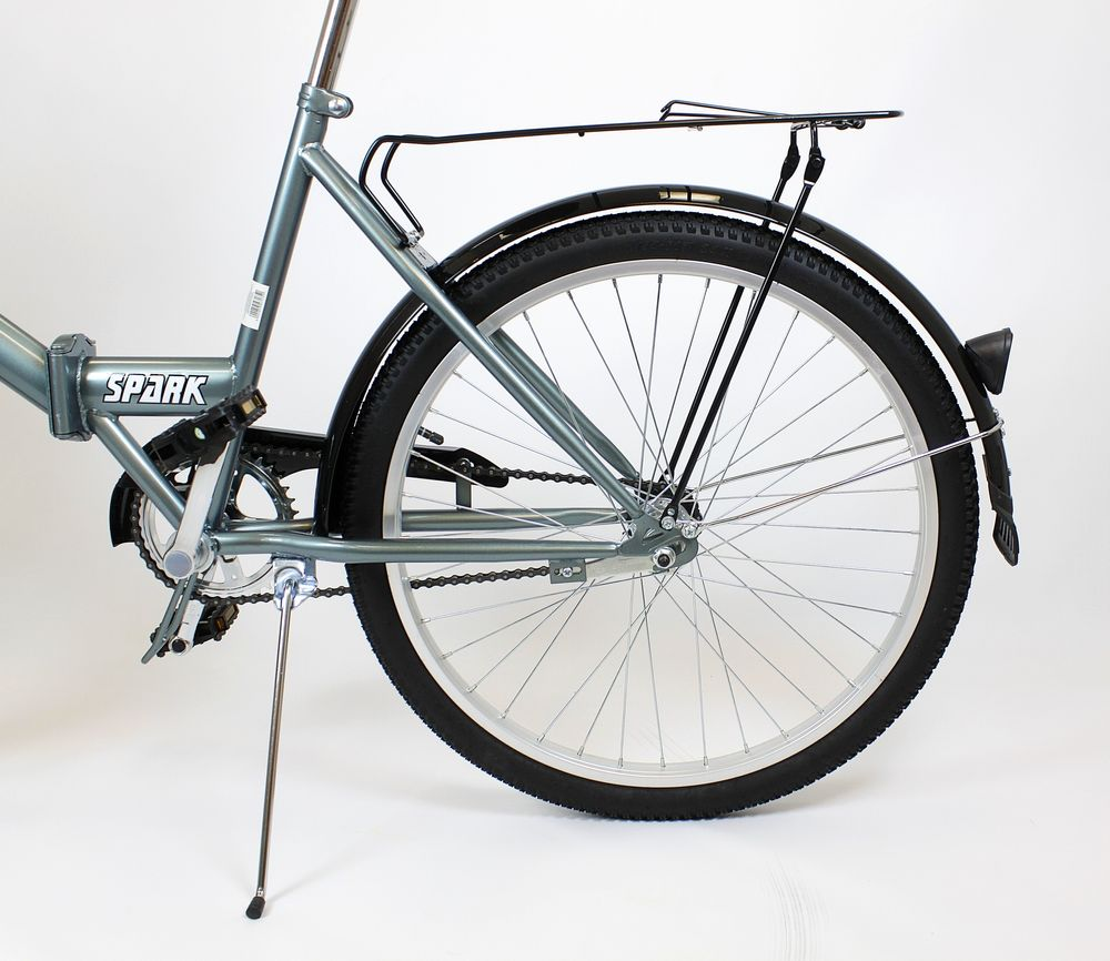 Klasický mestský bicykel Suwano TITAN Folder 24 Sex žena muž dievča chlapec