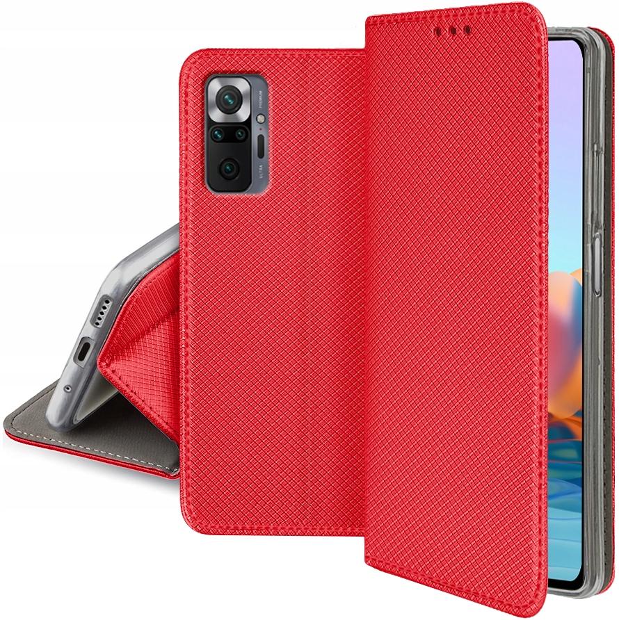 Etui do Xiaomi Redmi Note 10 Pro Magnet Case Szkło