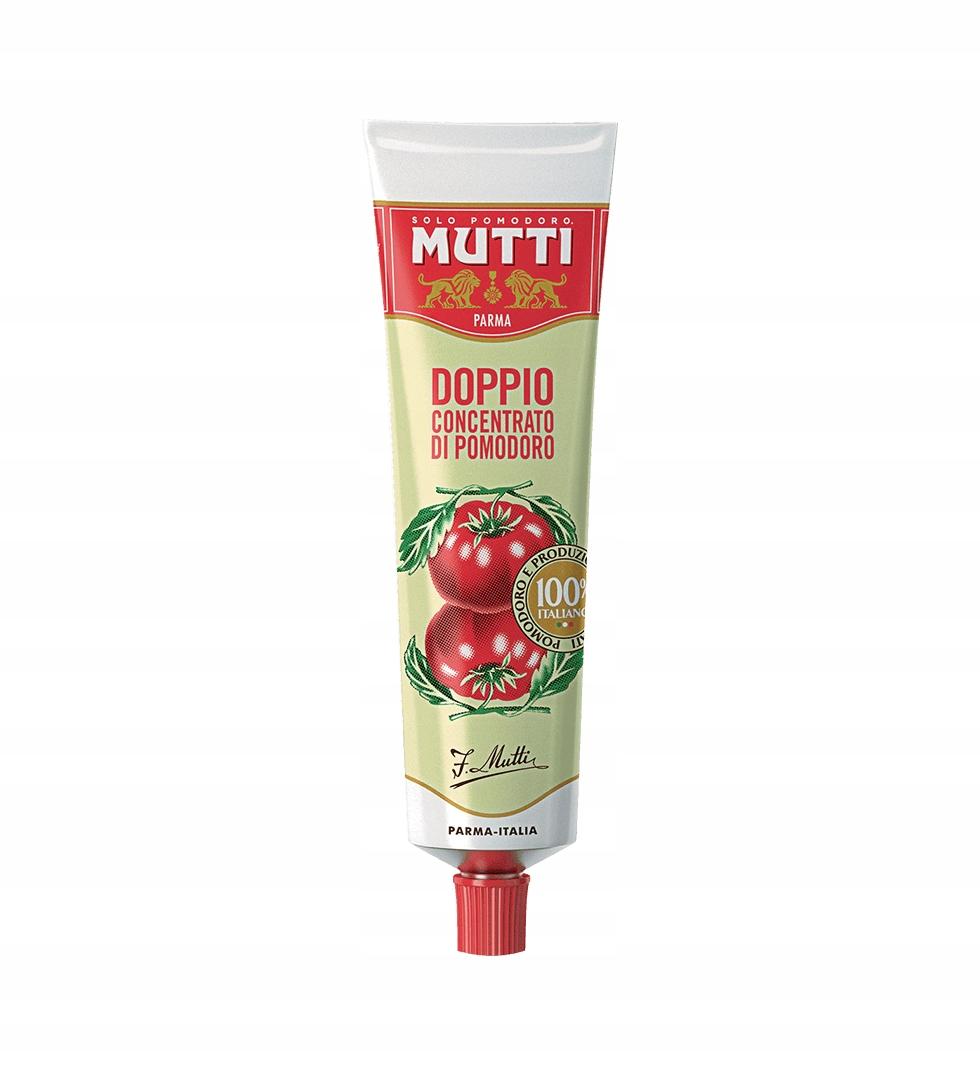 Mutti koncentrat podwójny w tubce import z Włoch