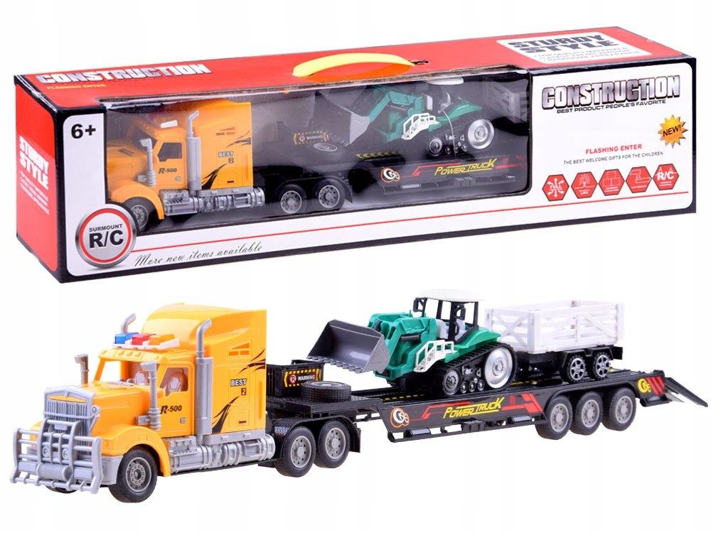 Tir Laweta + Traktor z Przyczepą Zestaw R/C RC0208 Marka inna