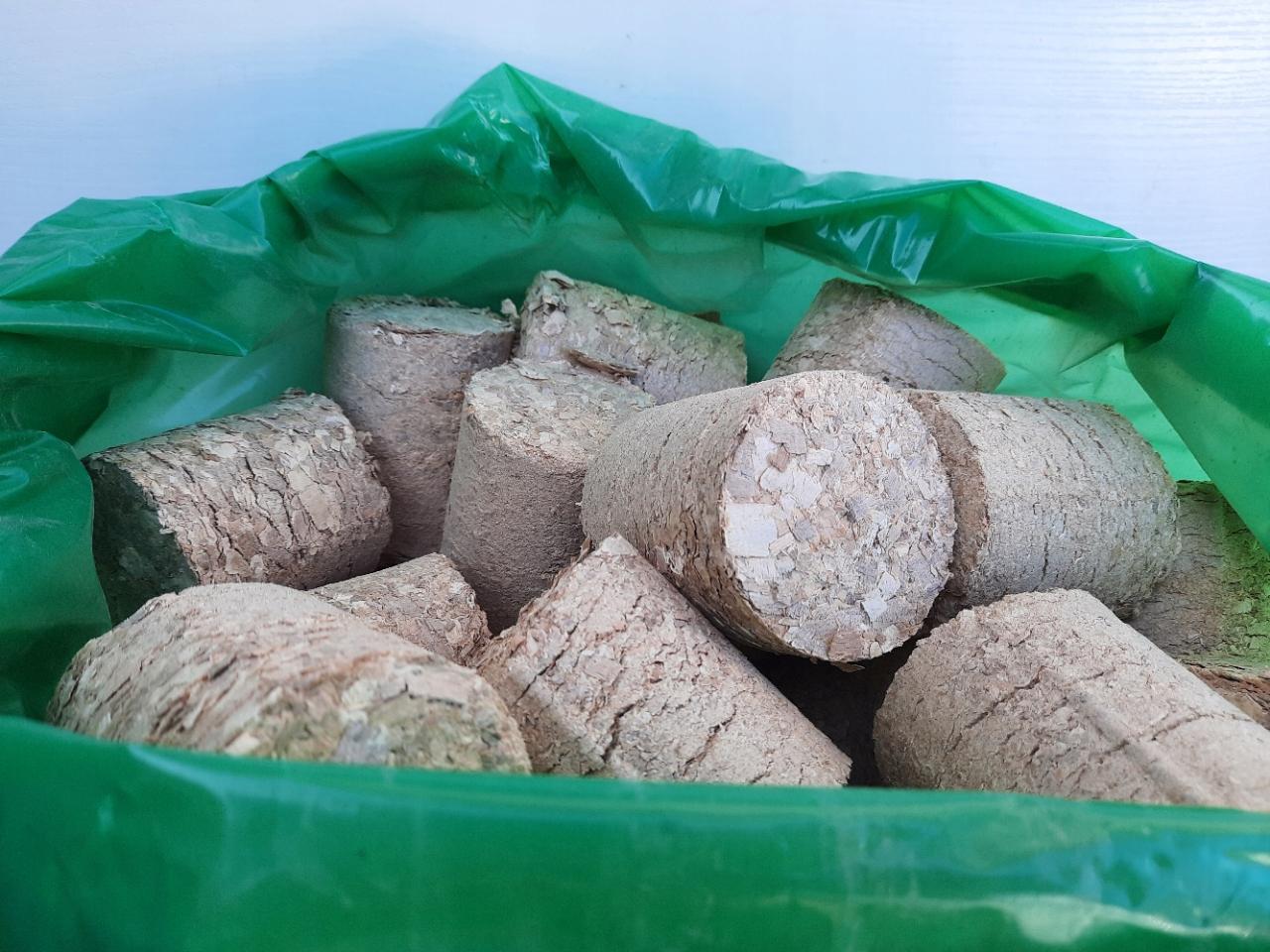 ЭКО Брикет для камина, дровяной BRIQUETTE 24 кг