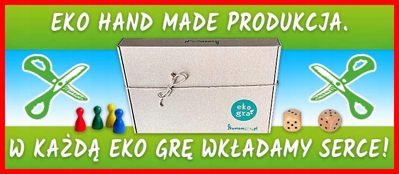 eko gra planszowa dla dzieci EKOMANIA czysta woda Wiek dziecka 3 lata +