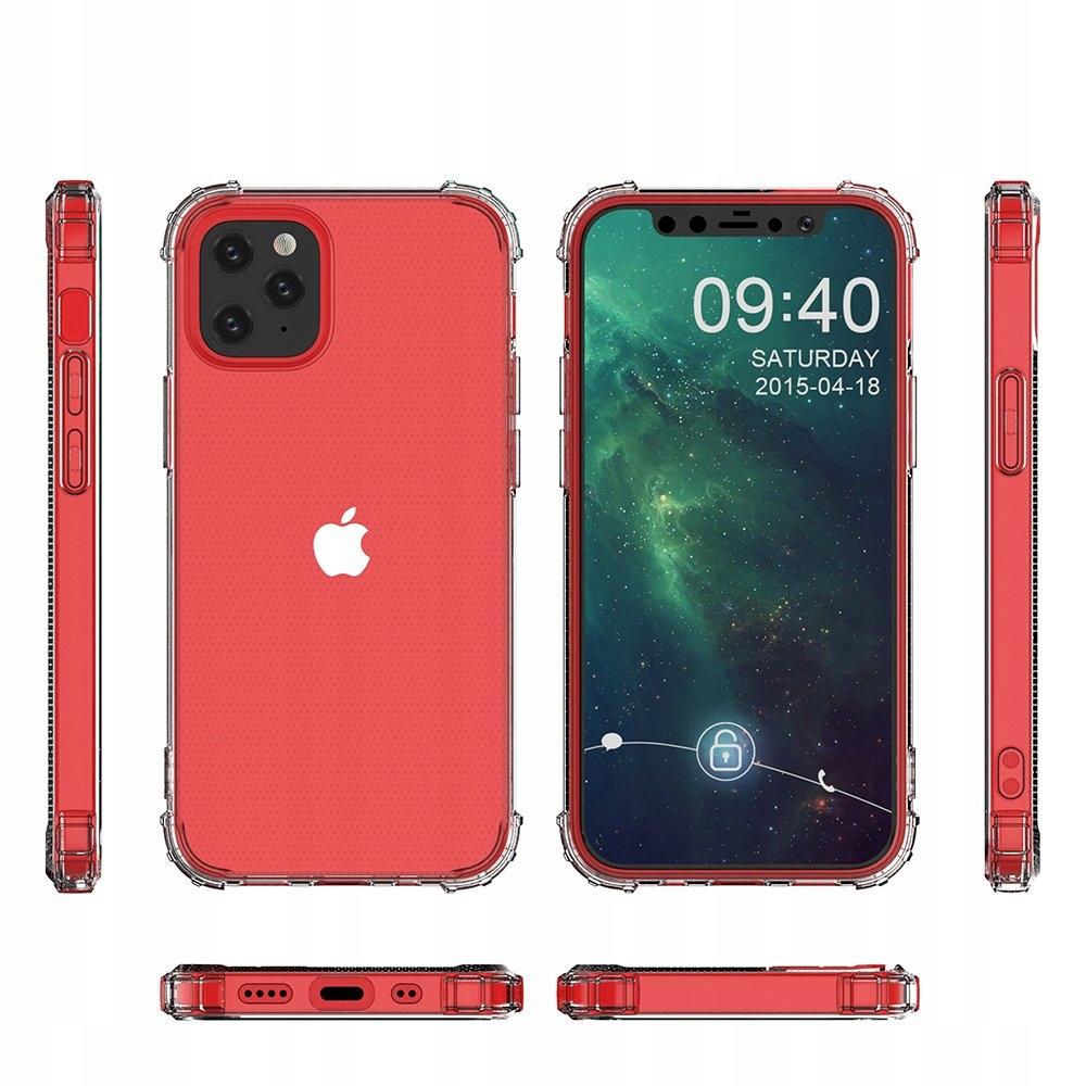 Pancerne Etui Anti Shock + Szkło do iPhone 12 Mini Przeznaczenie Apple