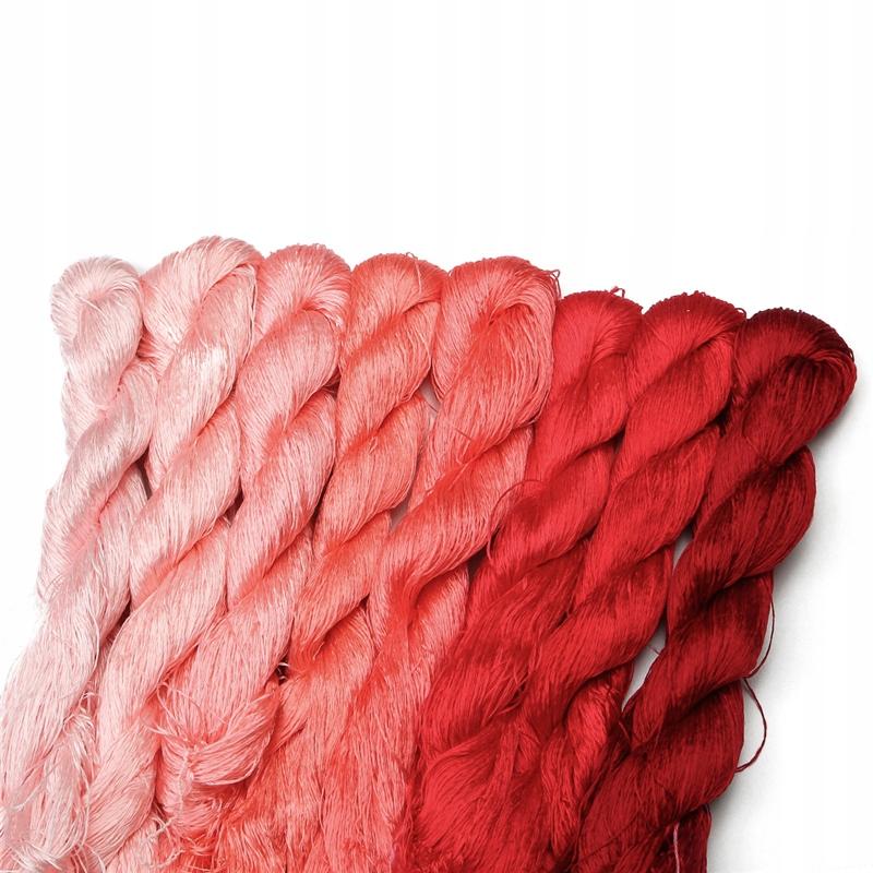 ЖЕСТКИЕ НИТИ универсальные для пришивания шелковых ниток 8 шт.