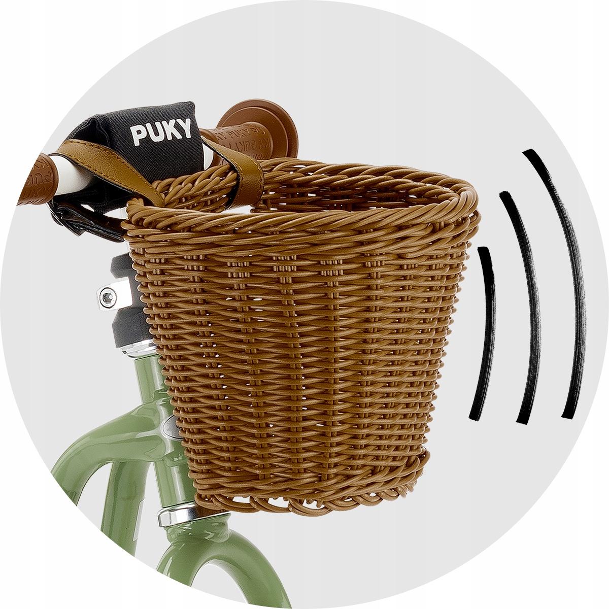 Rowerek biegowy PUKY LR M antracyt koszyk 3099 Marka Puky