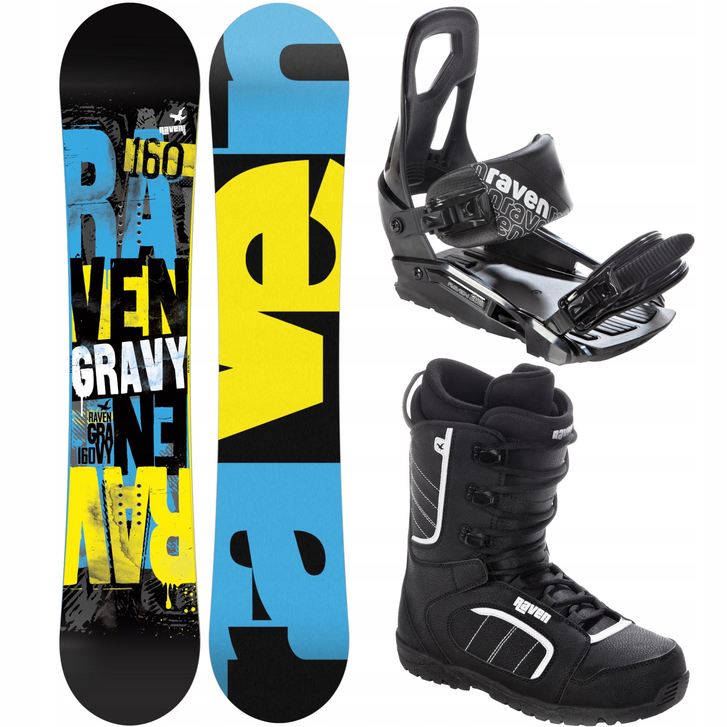 Комплект для сноуборда RAVEN Gravy 157cm 2021