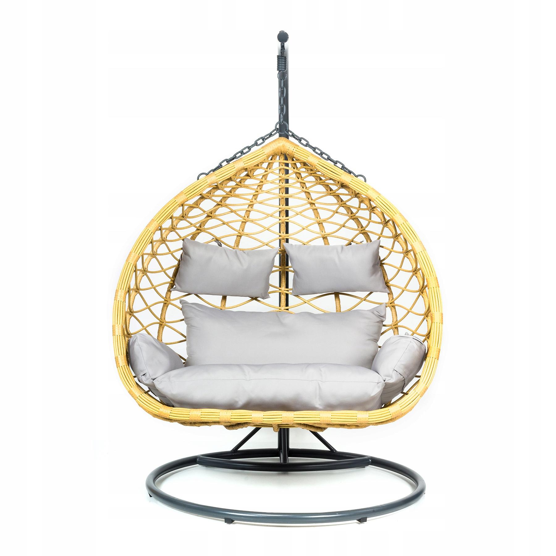 Závesná záhradná stolička XXL Hojdací kokonový košík Kód produktu MV-CELESTE
