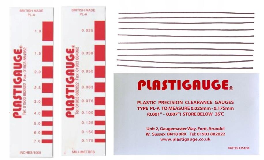 полоски измерительные распродажа двигателя тюнинг plastigauge la