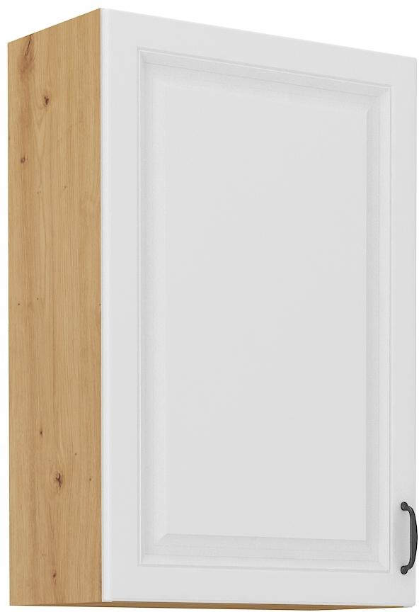 horná kuchynská skrinka 50 cm remeselník + biela RETRO