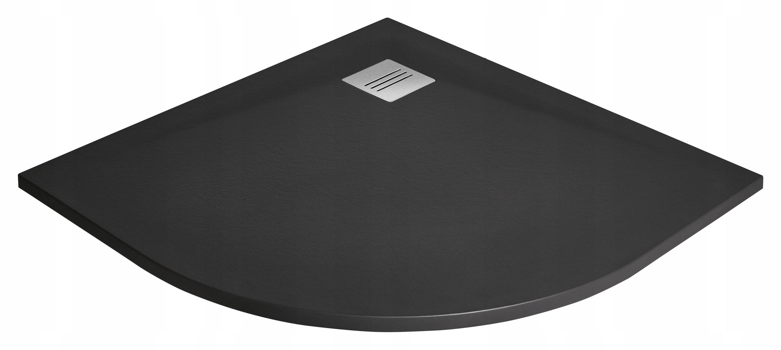 Kyntos A 100x100 HKA-01 čierna sprchová vanička Radaway