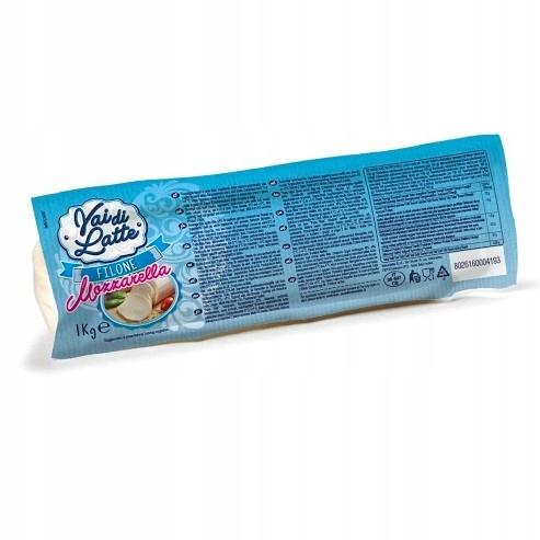 Mozzarella VAI di LATTE BLOK 1 kg Włoska