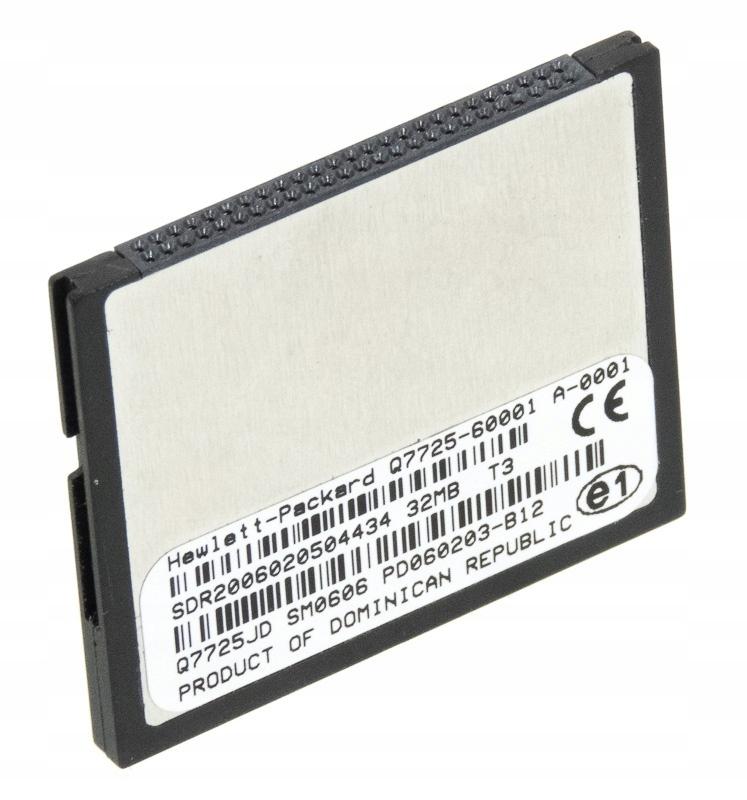 HP FIRMWARE Compact Flash 32MB Q7725-60001 Q7725JD