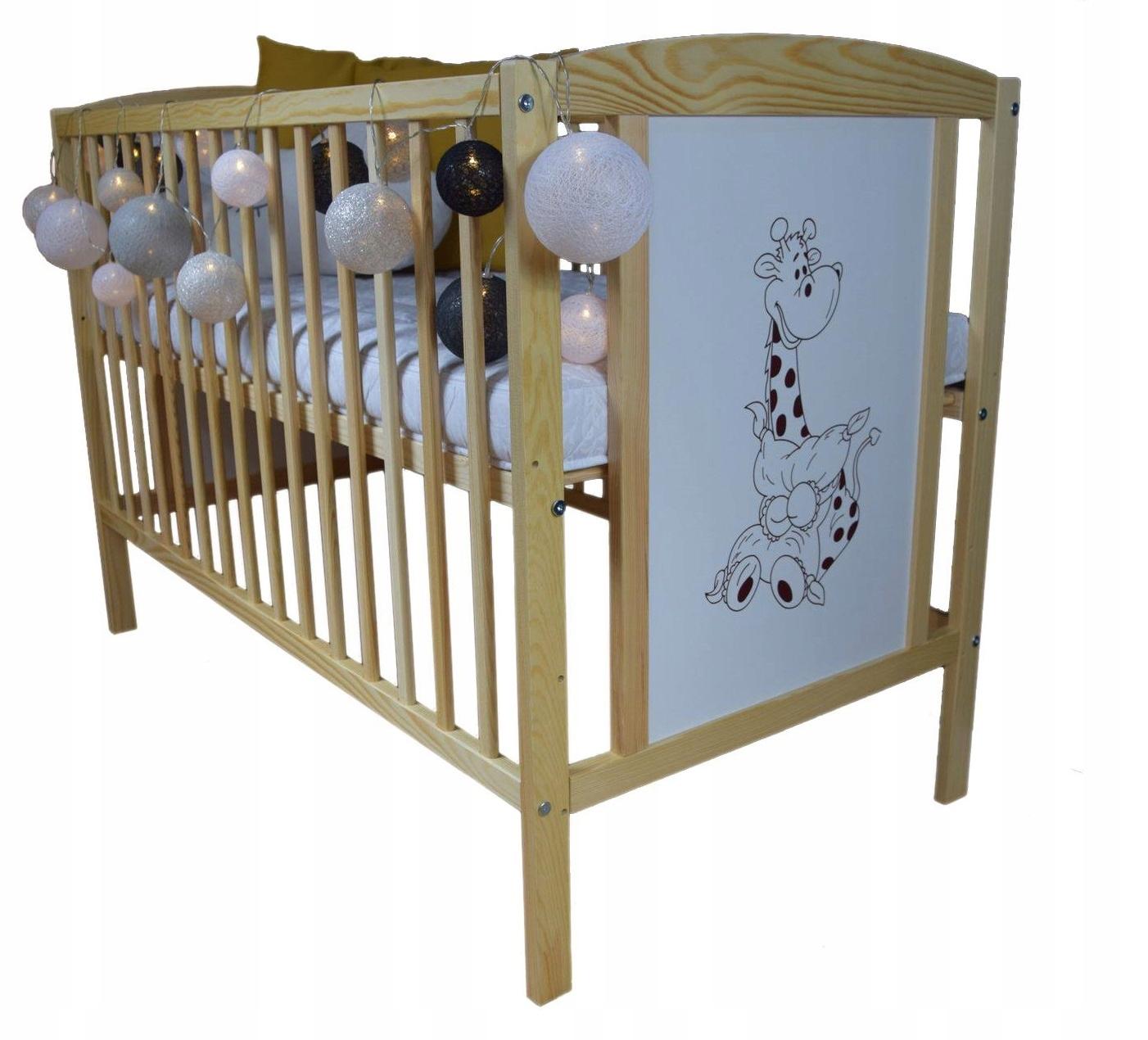 Детская кроватка BAJKA PINE B / SZ 120x60