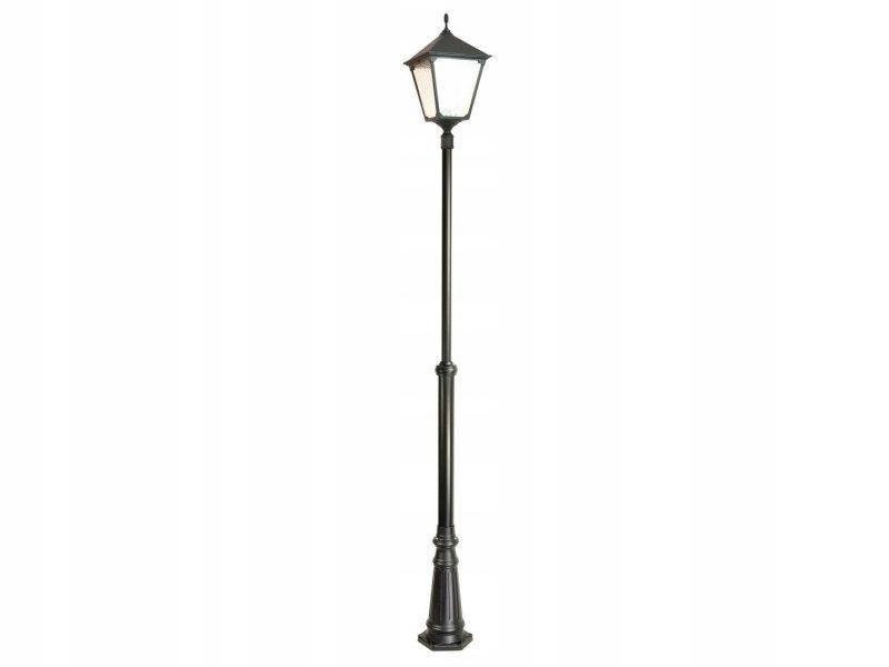Retro štvorcový záhradný lampáš 300cm