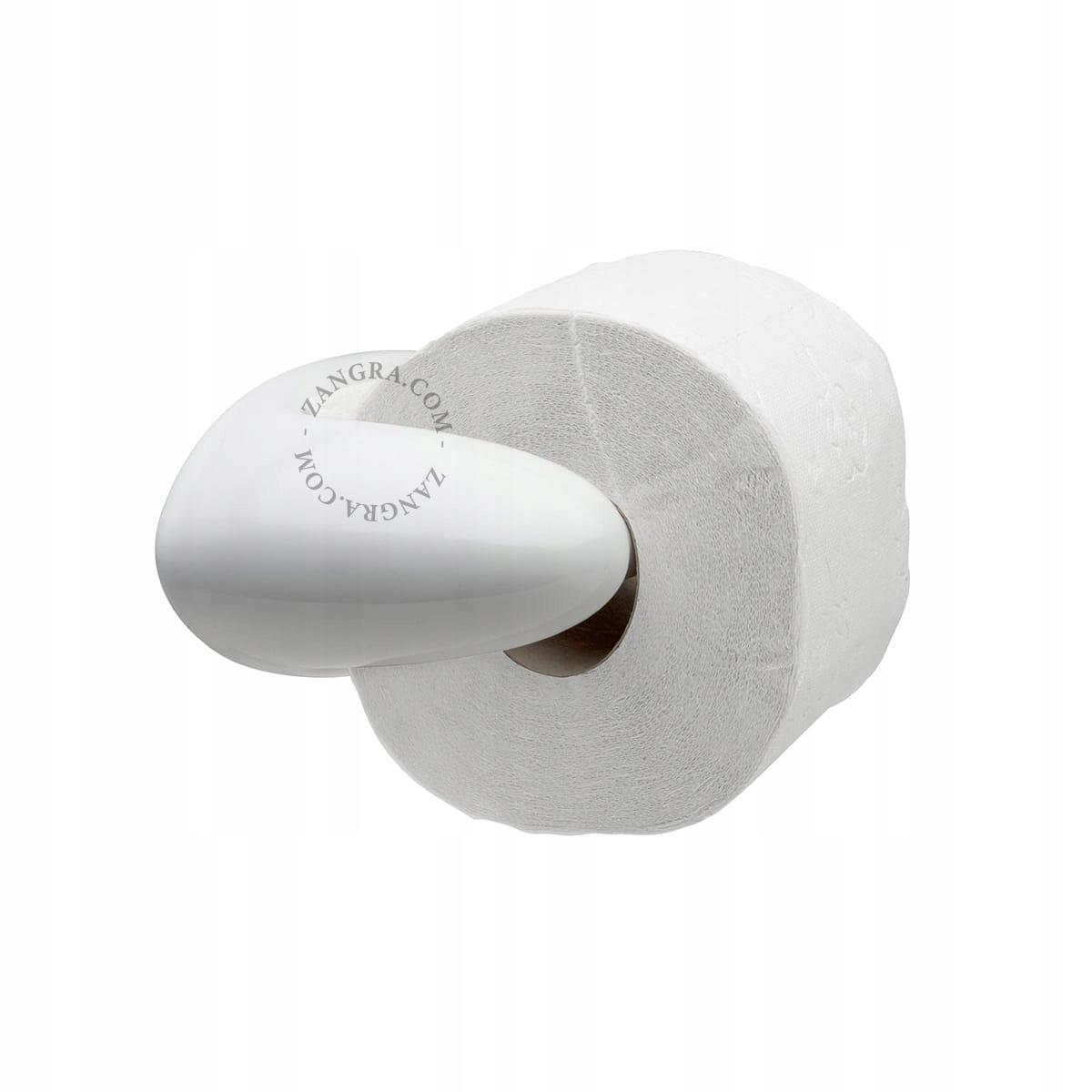 Držiak na papier 002 biely - Zangra