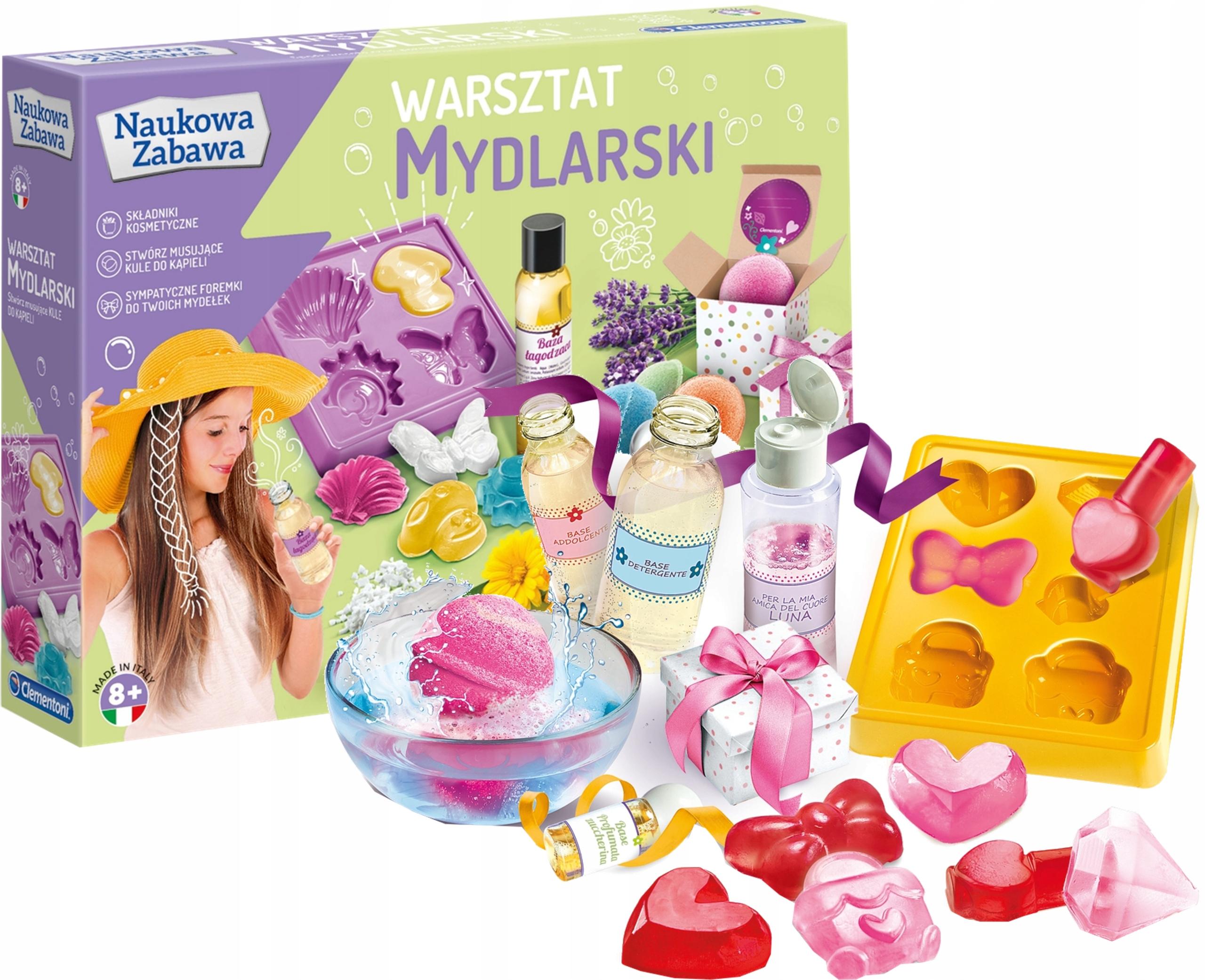 Sada mydlových guličiek pre deti