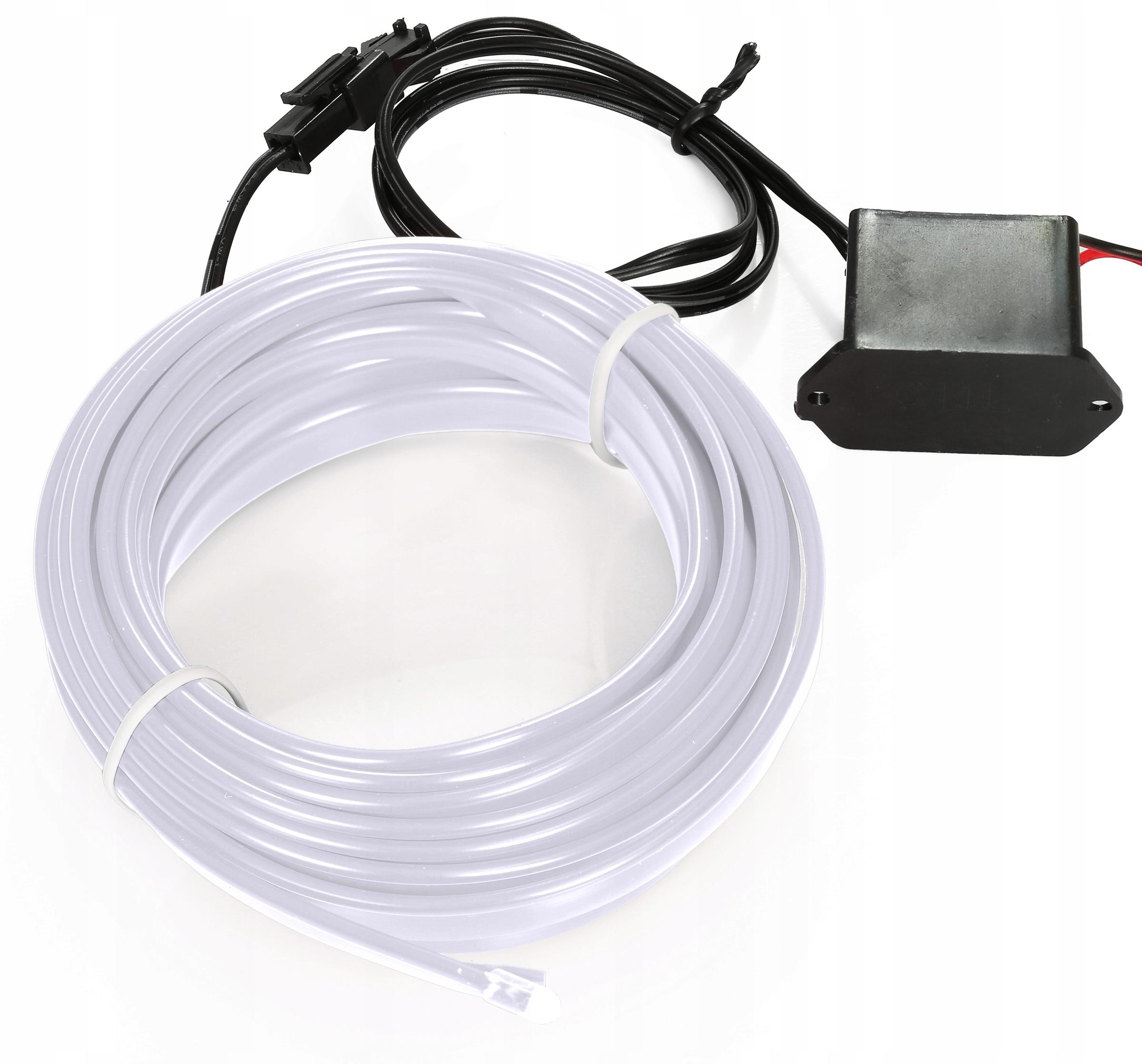 5m Волоконно-оптический кабель el wire лента ambient панель как led