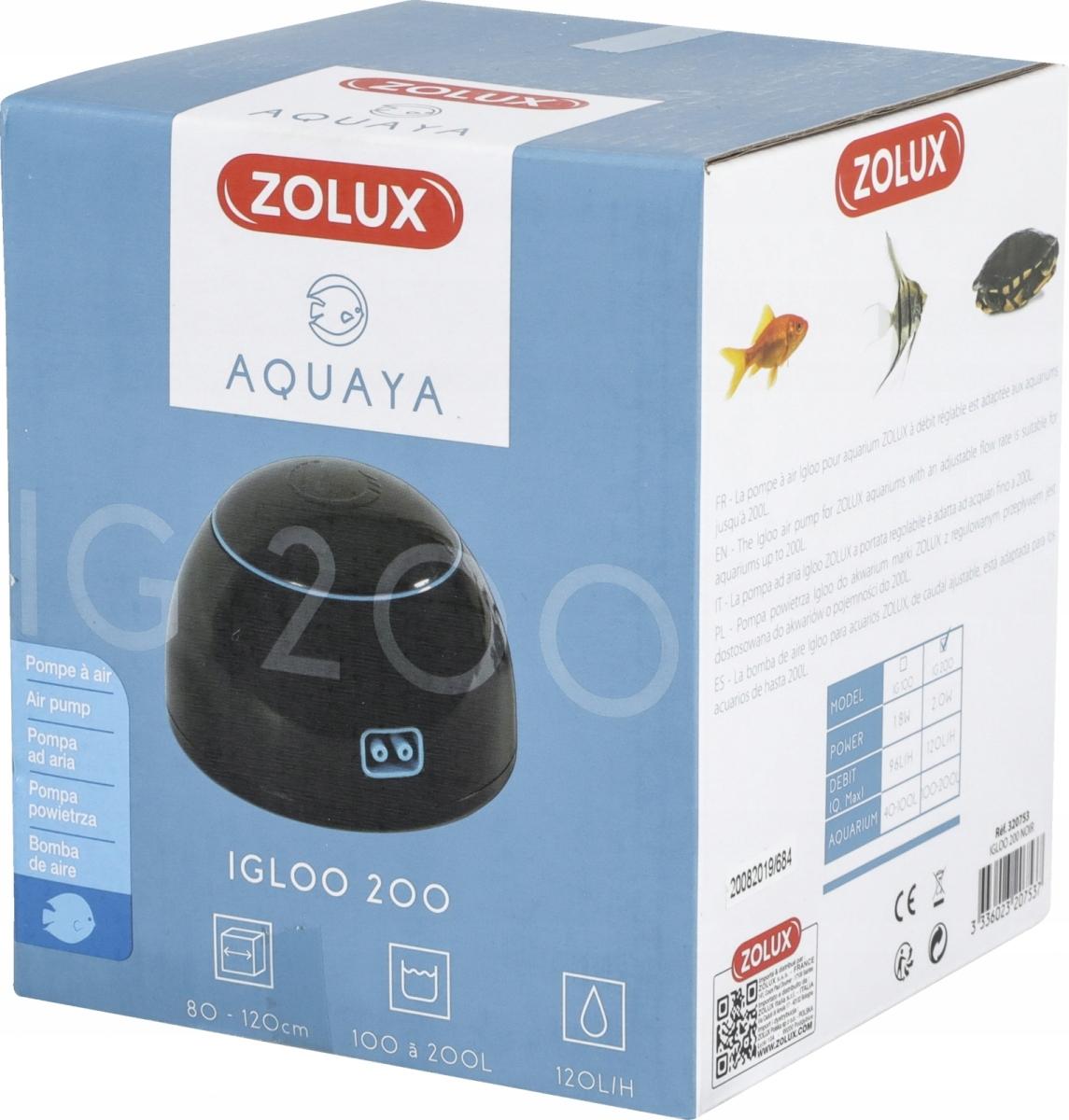 Zolux Iglu Aquaya 200 - čerpadlo nap.- farba čierna