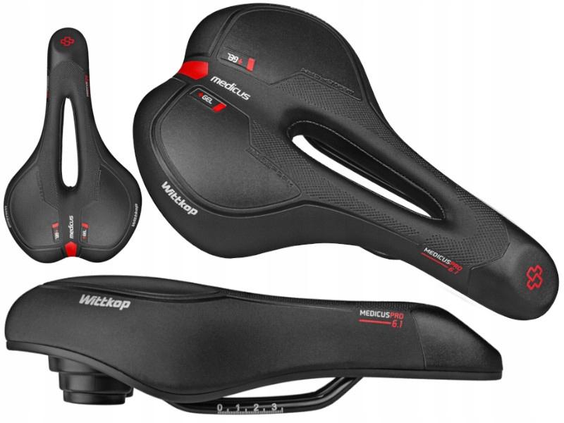 Велосипедное спортивное гелевое седло MEDICUS PRO 6.1