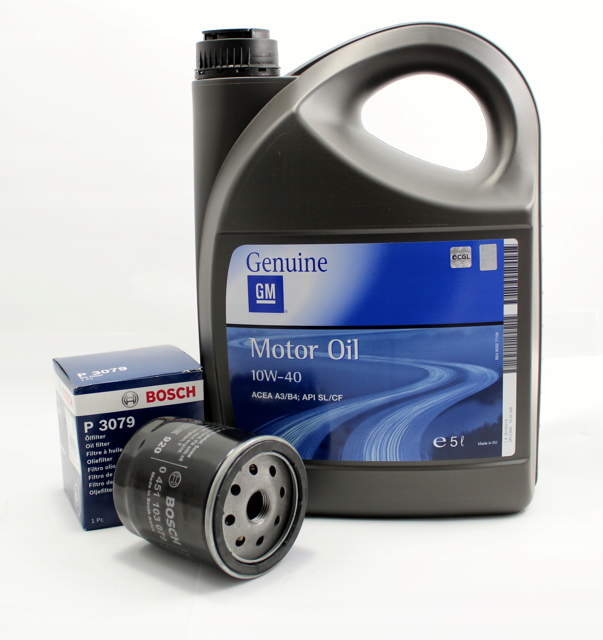 gm 10W40 5L+ фильтр масло opel astra zafira vectra