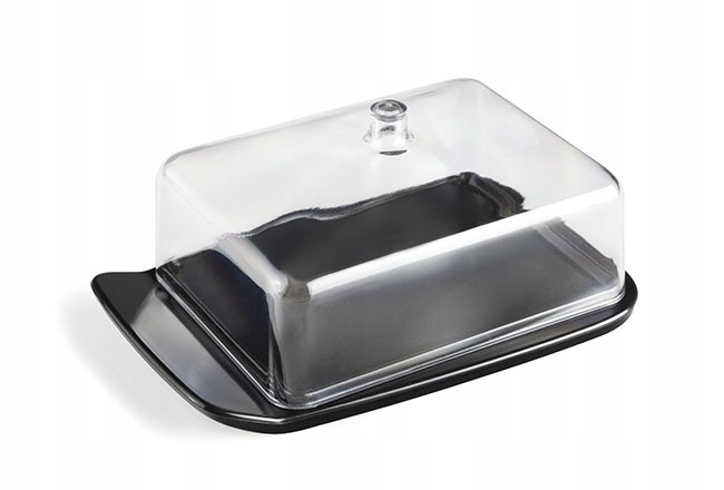 Масленка KITCHEN CONTAINER BLACK BUTTER PL