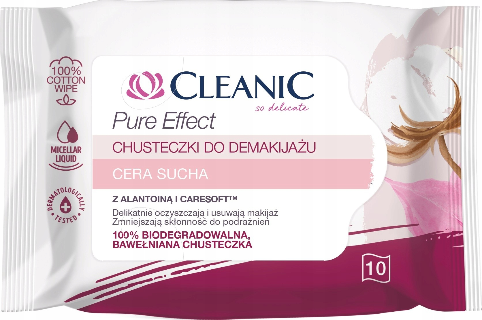Чистые салфетки для макияжа Remover Чистый эффект - cer