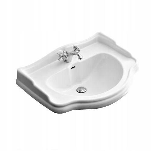 Kerasan Retro závesné umývadlo 55 x 46 biele