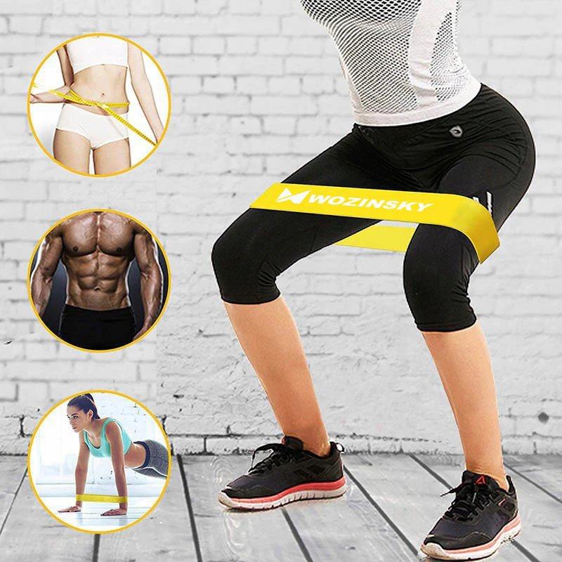 Taśmy Gumy oporowe do ćwiczeń joga fitness EAN 9111201912281