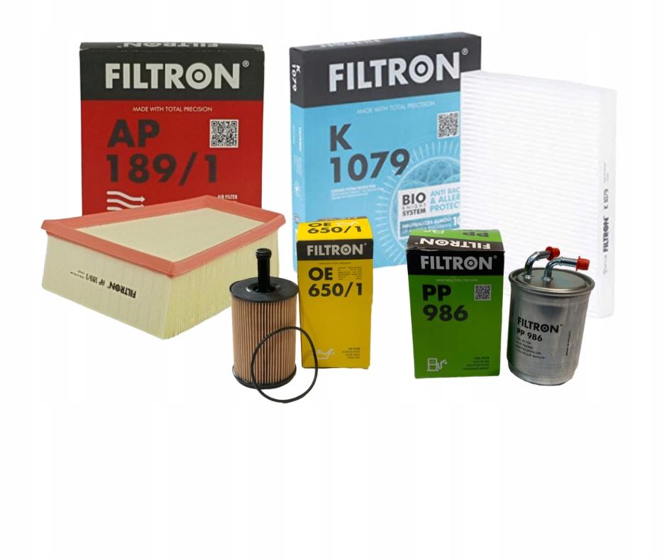комплект фильтры filtron skoda fabia vw поло 14tdi