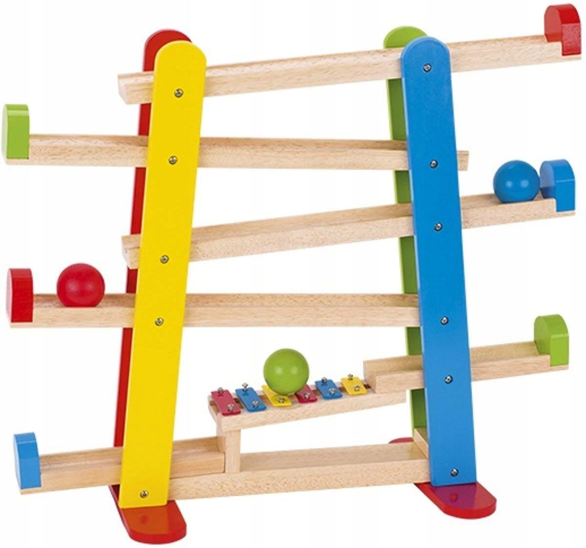 GoKi 53825 WoodMetal Ball Track s hrou Xylofón