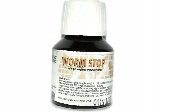 Exotic Worm Stop 50ml дегельминтизация птиц