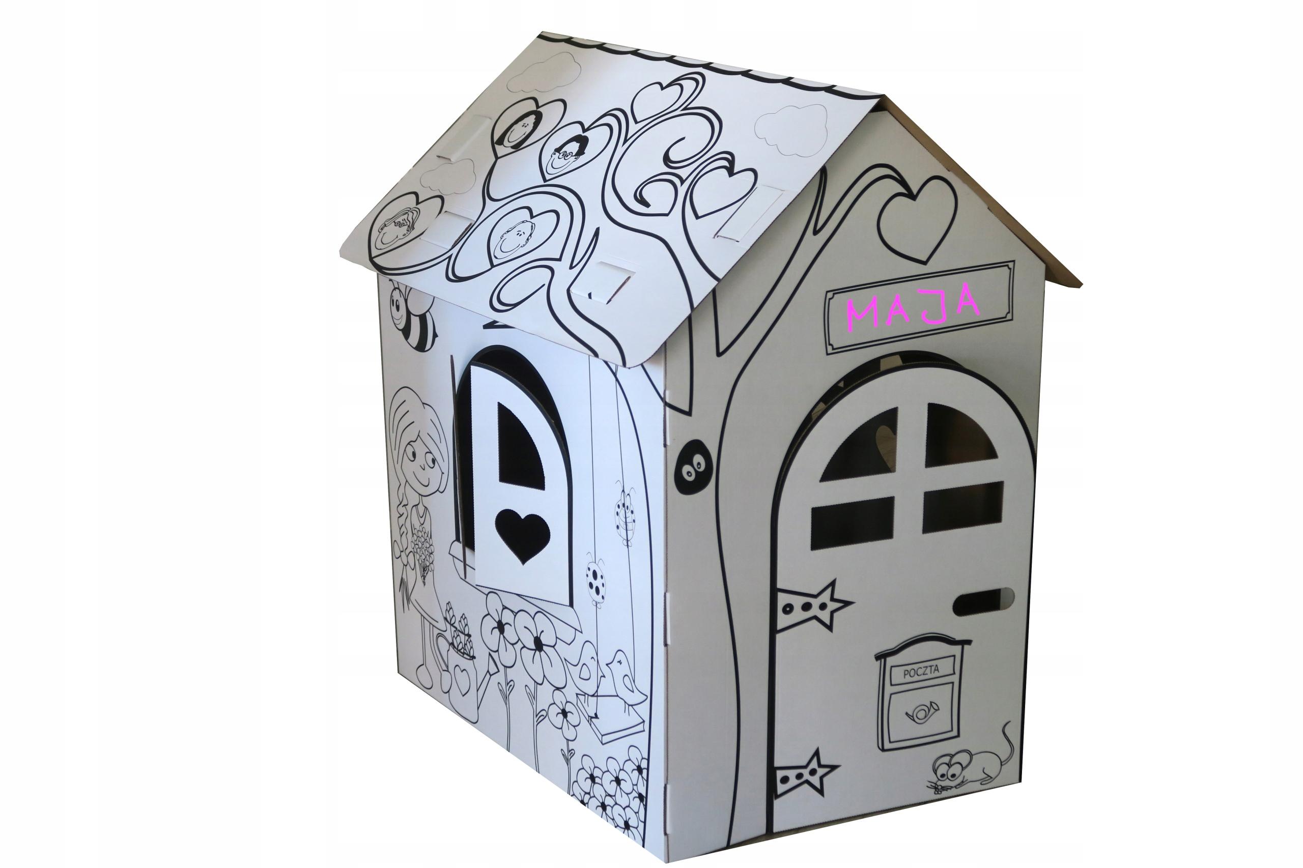 Kartónová skrinka pre vzdelávacie maľovanie XXL