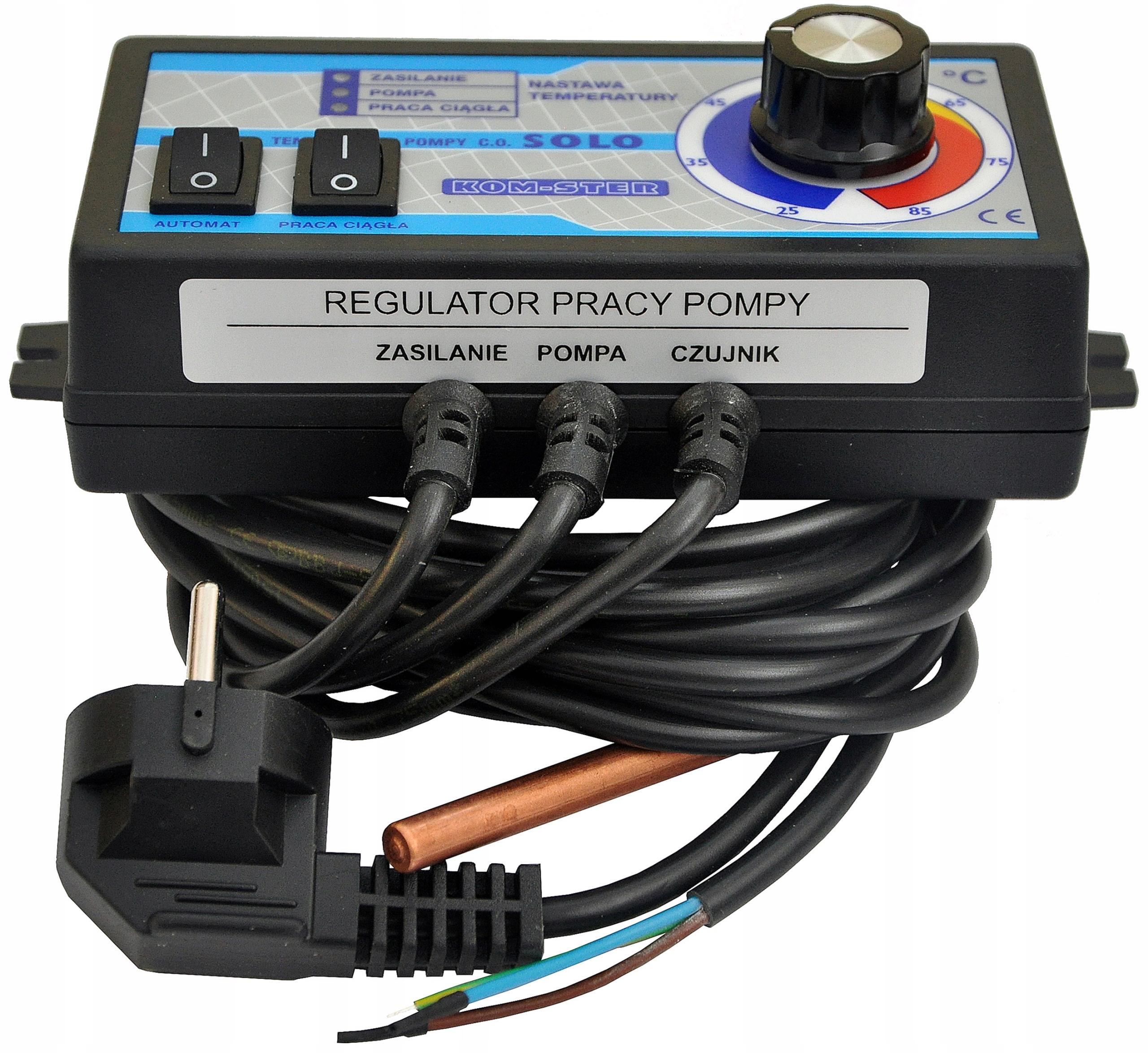 Контроллер SOLO, контроллер насоса центрального отопления ПОЛЬСКИЙ
