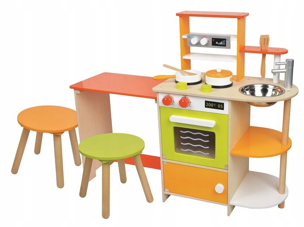 Drevená kuchynka s jedálňou pre deti z Lelinu