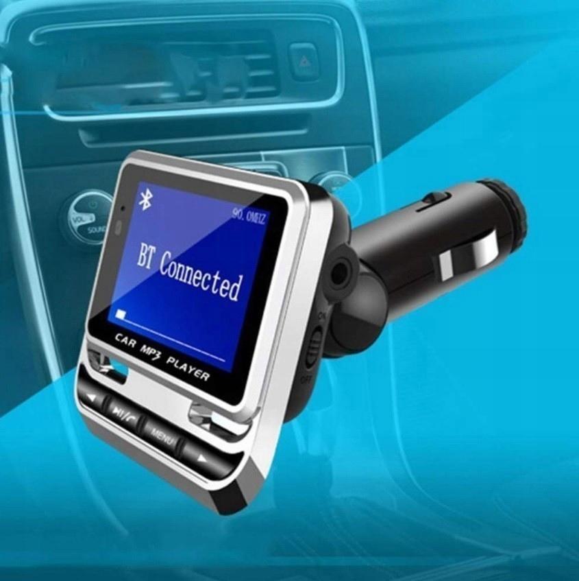 Transmiter samochodowy FM Bluetooth USB z pilotem Producent inny