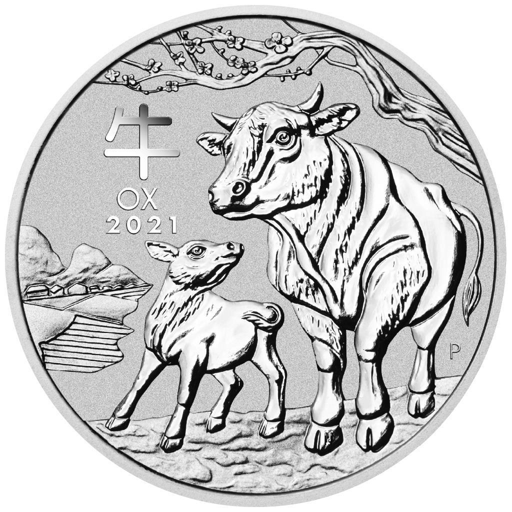 1 oz - 1 rok Buffala 2021 - Austrália