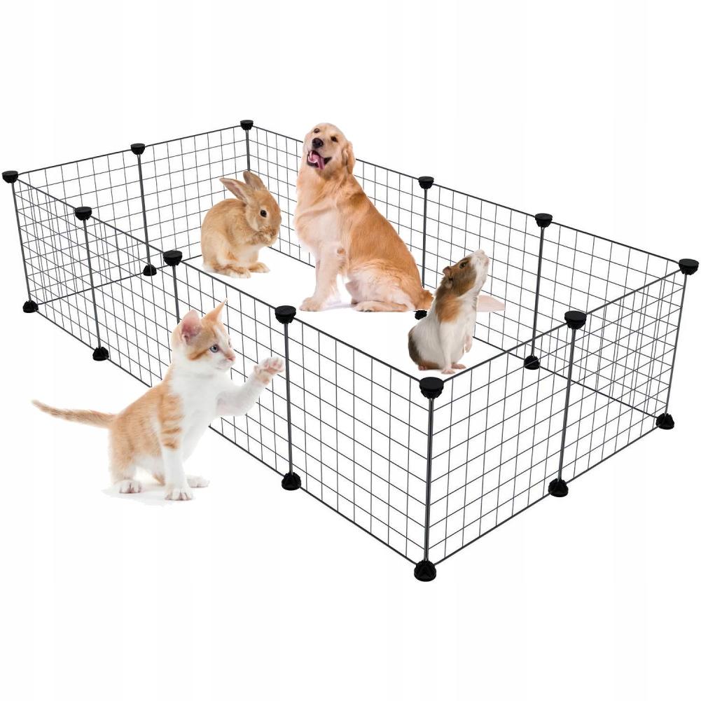 Высокий манеж, клетка для собак и кроликов с полом