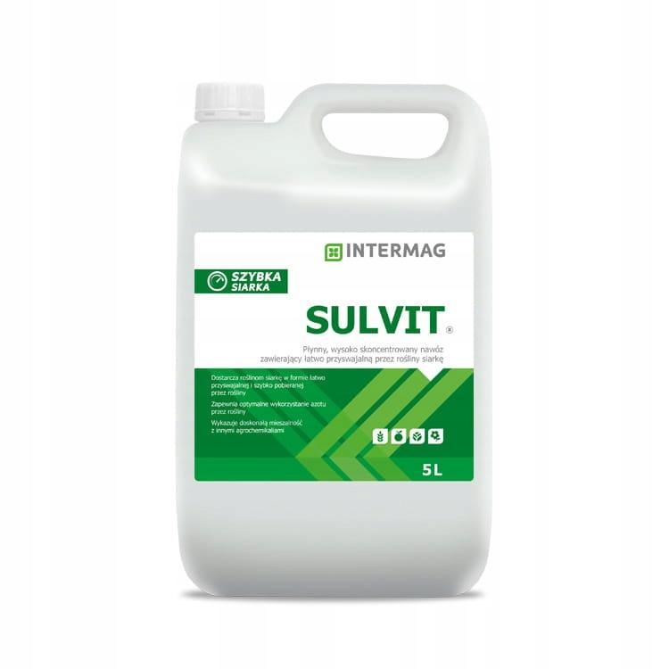 Sulvit 1L Intermag серы листвы новый автомобиль
