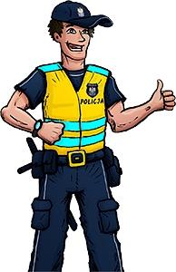 eko gra planszowa BEZPIECZNI Z POLICJĄ Szerokość produktu 31 cm