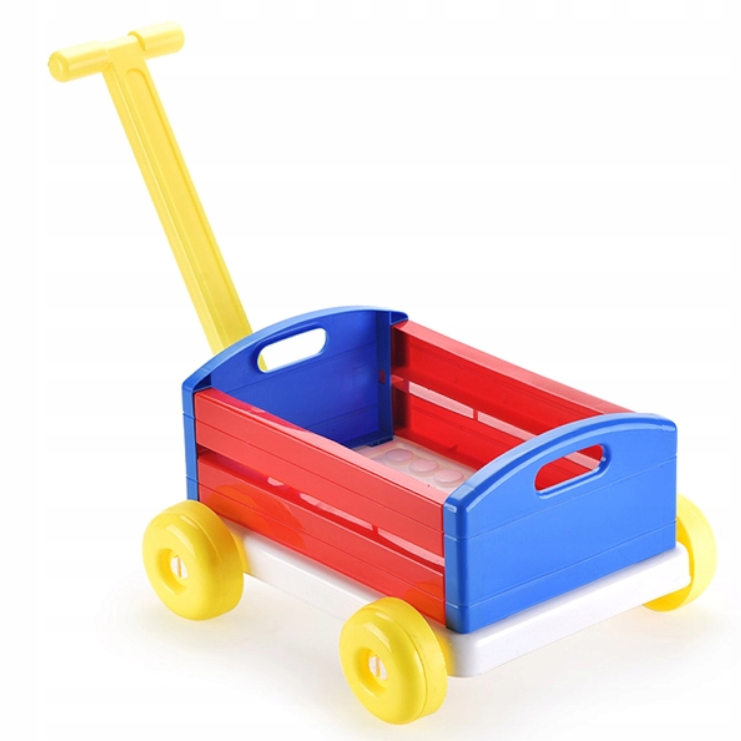 Duży wózek z rączką taczka przyczepa 74 cm 6660-8 Kod producenta 6660-8