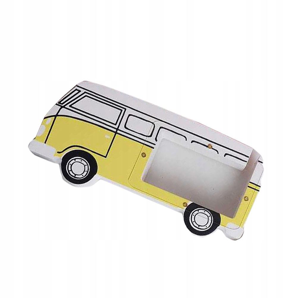 Ukladanie kreatívnej s. V tvare retro autobusu