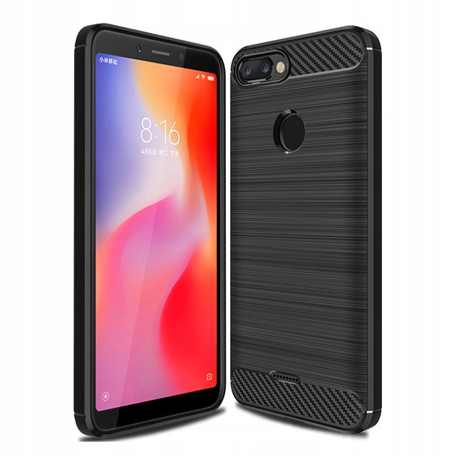 Carbon Etui Xiaomi Redmi 6