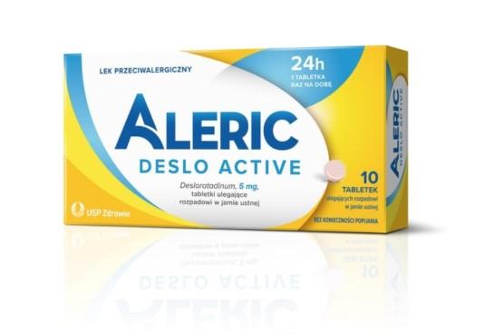 Aleric Deslo Active 10tabl alergia katar pokrzywka