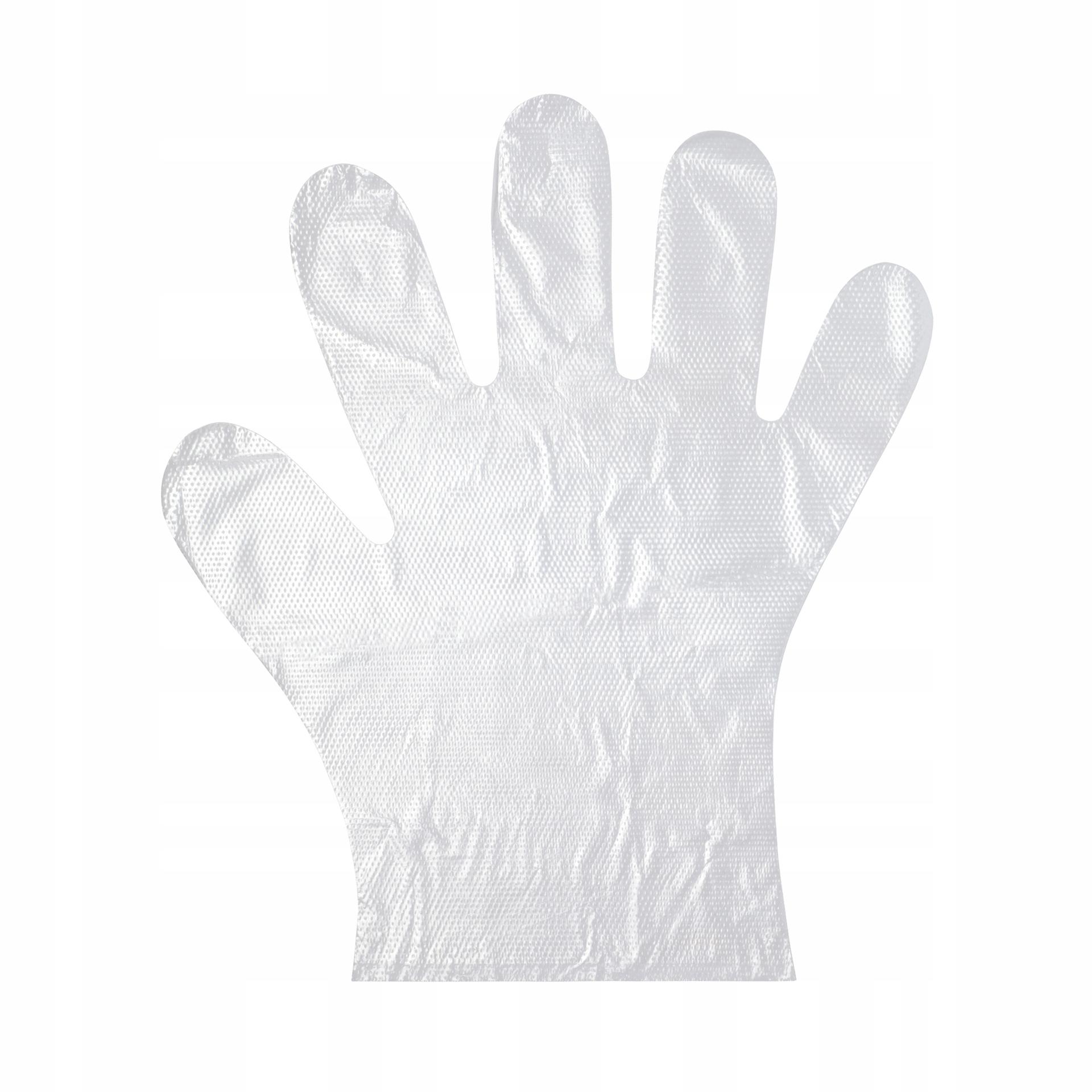 Rękawiczki jednorazowe foliowe 100 szt.
