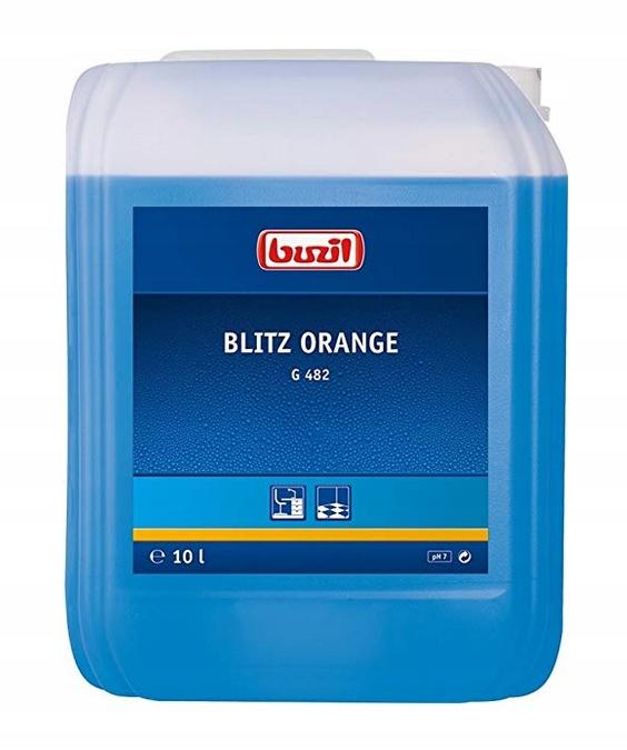 BUZIL płyn do pielęgnacji G482 BLITZ ORANGE 10 l